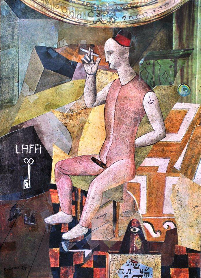 Antoine Fräppa-Hedonista en una habitación del hotel Lafayette